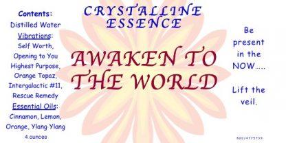 AWAKEN TO THE WORLD Label