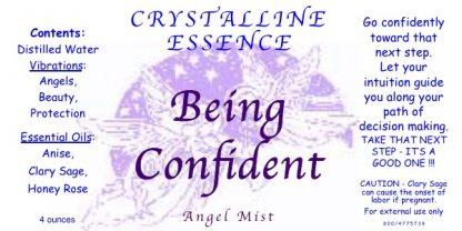 Being Confident Angel Mist Label