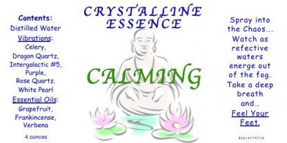 CALMING Vibrational Spray 4 oz. bottle