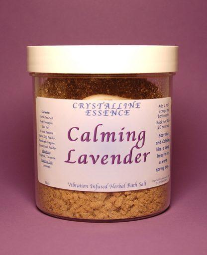 Calming Lavender Bath Salts 12oz