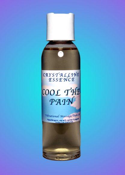 Cool The Pain Vibrational Massage & Bath Oil 4oz Bottle