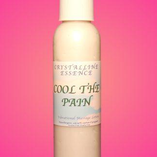 Cool The Pain Vibrational Massage & Body Lotion 4oz Bottle