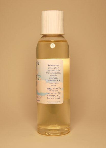 Cool The Pain Vibrational Massage & Bath Oil 4oz Directions