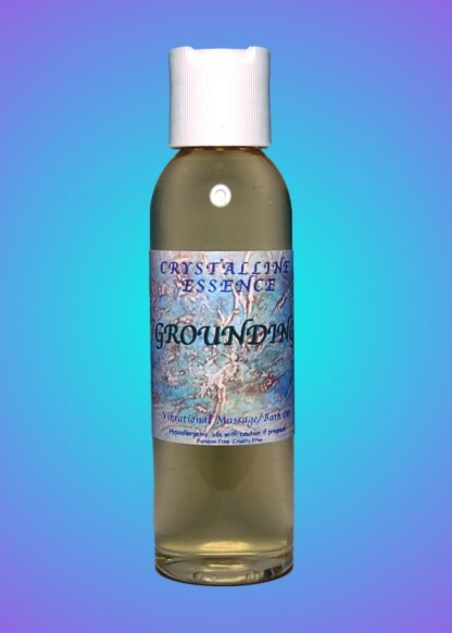 Grounding Vibrational Massage & Bath Oil 4oz Bottle