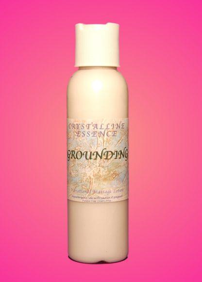 Grounding Vibrational Massage & Body Lotion 4oz Bottle