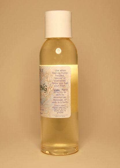 Grounding Vibrational Massage & Bath Oil 4oz Directions