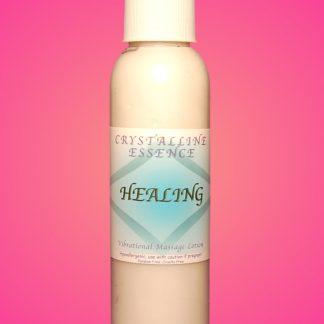 Healing Vibrational Massage & Body Lotion 4oz Bottle