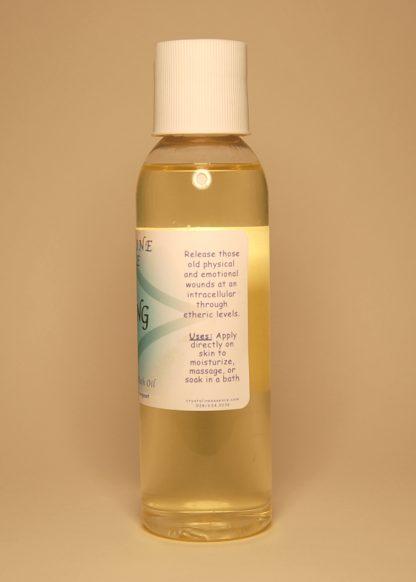 Healing Vibrational Massage & Bath Oil 4oz Directions