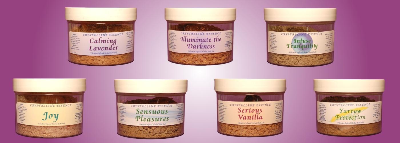 Herbal Bath Salts Compilation