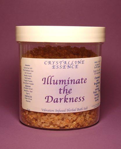Illuminate The Darkness Bath Salts 12oz