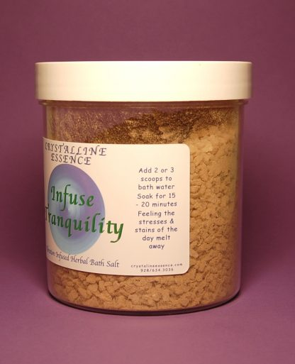 Infuse Tranquillity Bath Salts Directions