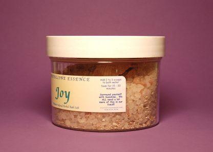Joy Bath Salts 6oz Directions