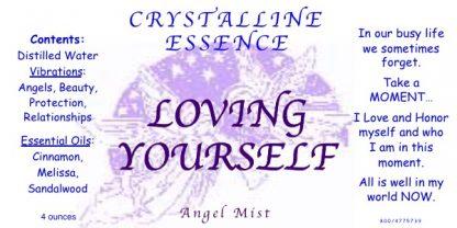 LOVING YOURSELF Angel Mist Label