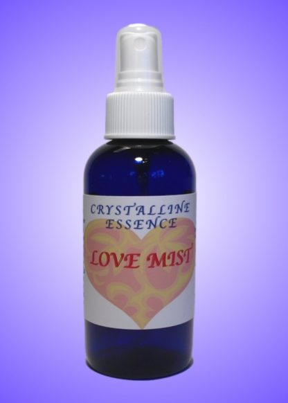 Love Mist Vibrational Spray 4oz Bottle