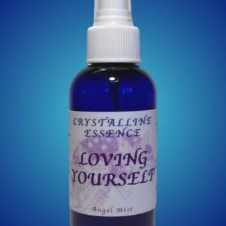 Loving Yourself Angel Mist 4oz Bottle