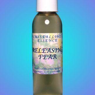 Releasing Fear Vibrational Massage & Bath Oil 4oz Bottle
