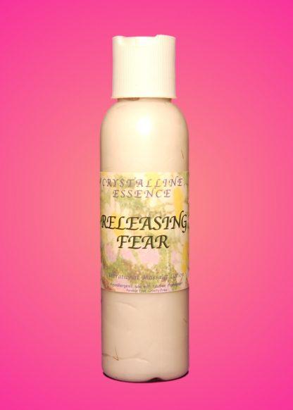 Releasing Fear Vibrational Massage & Body Lotion 4oz Bottle