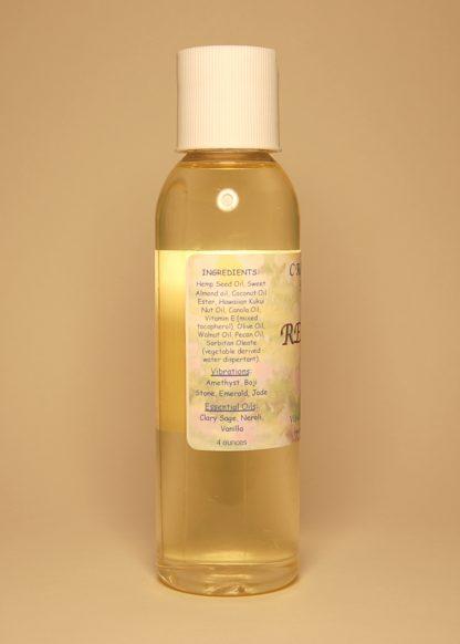 Releasing Fear Vibrational Massage & Bath Oil 4oz Contents