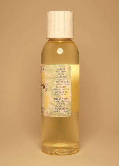 Releasing Fear Vibrational Massage & Bath Oil 4oz Directions