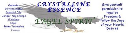 EAGLE SPIRIT SPRAY LABEL