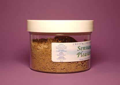 Sensuous Pleasures Bath Salts 6oz Contents