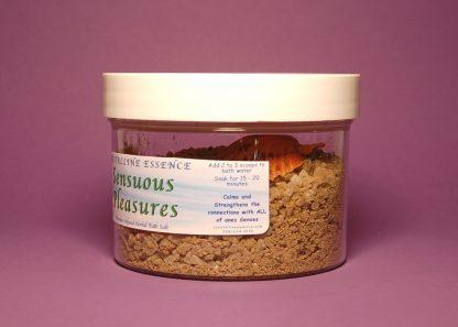 Sensuous Pleasures Bath Salts 6oz Directions