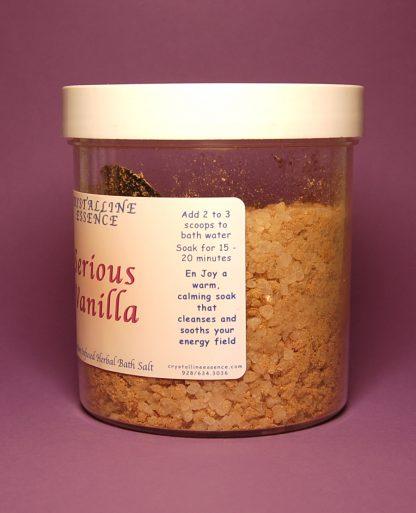 Serious Vanilla Bath Salts Directions