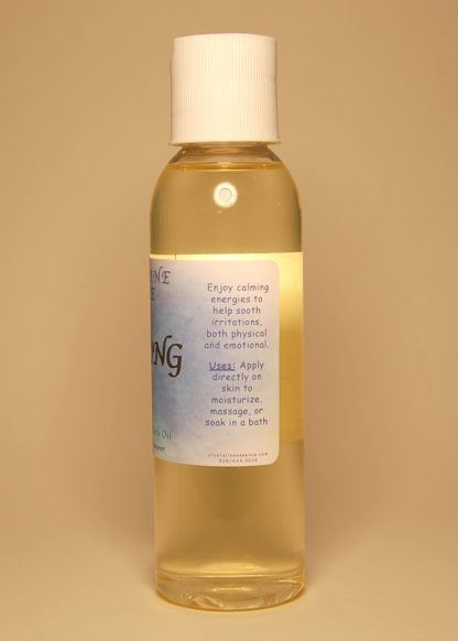 Soothing Vibrational Massage & Bath Oil 4oz Directions