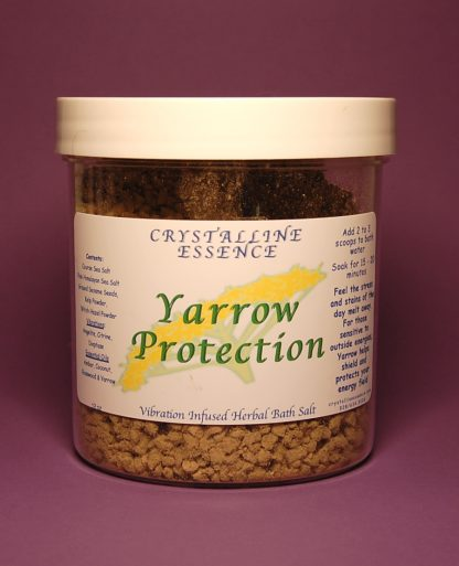 Yarrow Protection Bath Salts 12oz